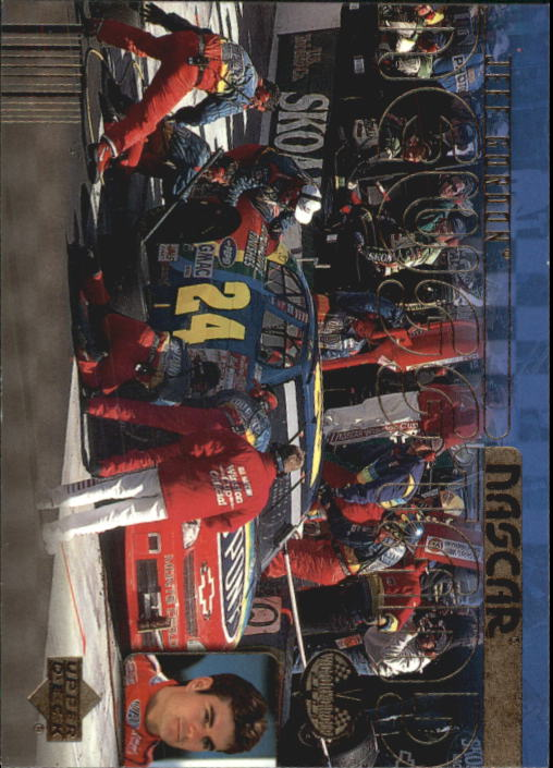 2000 Upper Deck Victory Circle #65 Jeff Gordon's Car