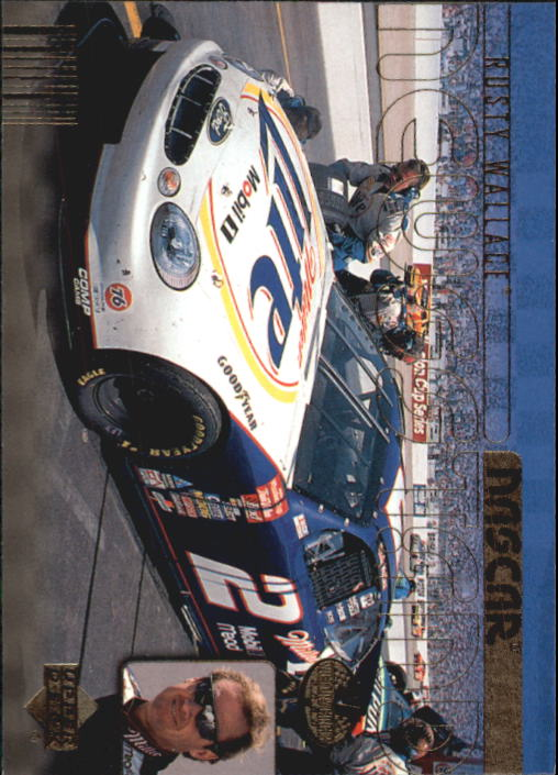 2000 Upper Deck Victory Circle #71 Rusty Wallace's Car