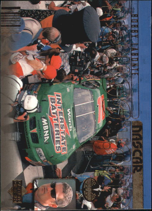 2000 Upper Deck Victory Circle #72 Bobby Labonte's Car