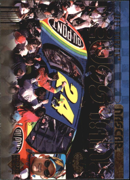 2000 Upper Deck Victory Circle #73 Jeff Gordon's Car