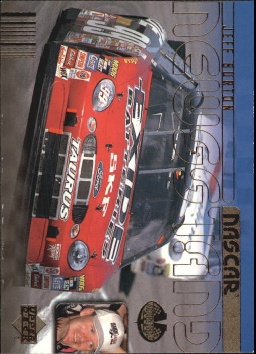 2000 Upper Deck Victory Circle #74 Jeff Burton's Car