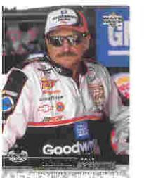 2000 Upper Deck Victory Circle Exclusives Level 1 Silver #9 Dale Earnhardt