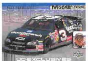 2000 Upper Deck Victory Circle Exclusives Level 1 Silver #70 Dale Earnhardt's Car