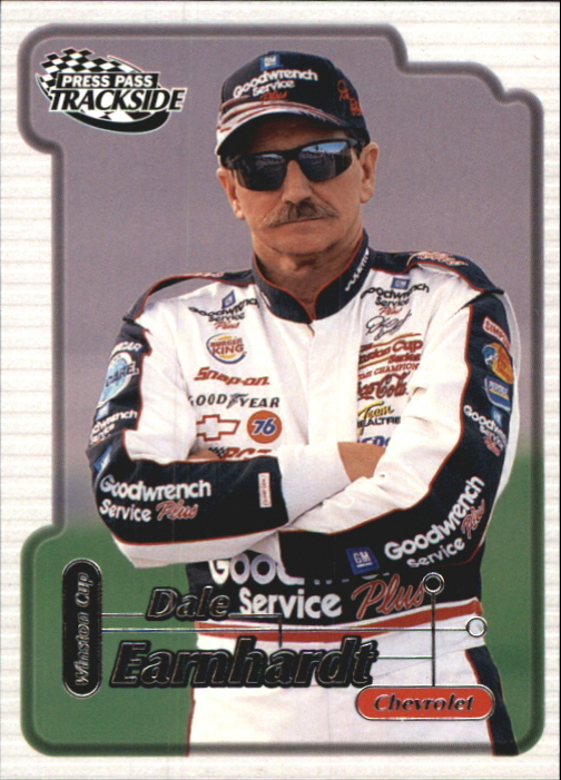2000 Press Pass Trackside #2 Dale Earnhardt