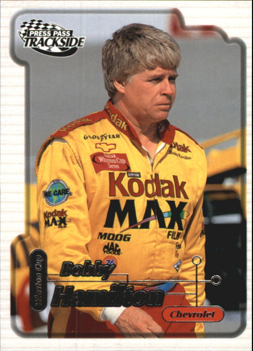 2000 Press Pass Trackside #3 Bobby Hamilton
