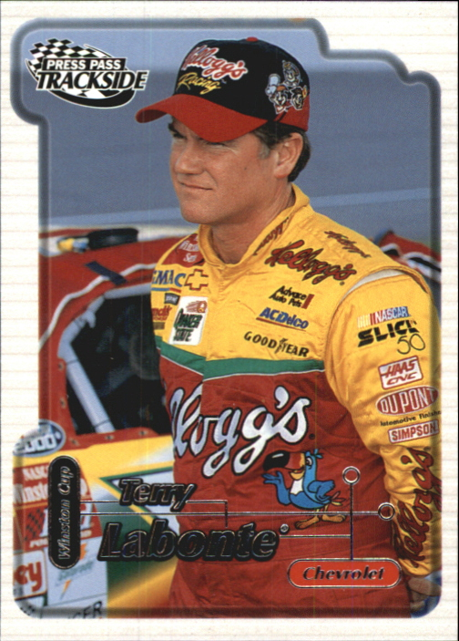 2000 Press Pass Trackside #4 Terry Labonte
