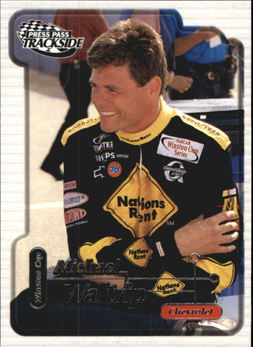 2000 Press Pass Trackside #5 Michael Waltrip
