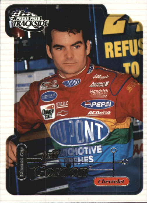 2000 Press Pass Trackside #7 Jeff Gordon