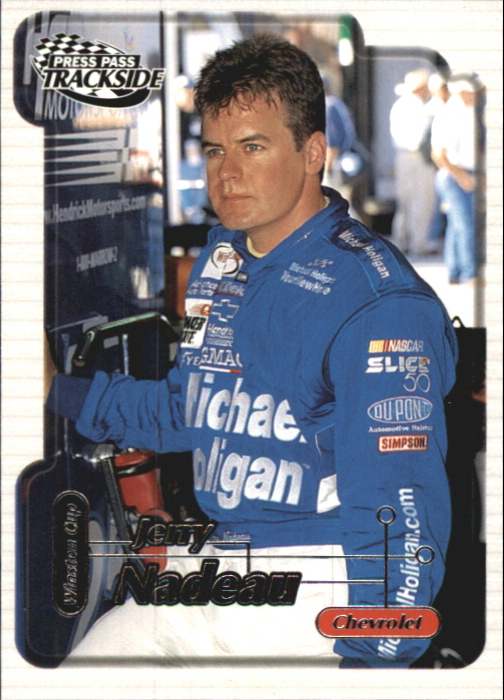 2000 Press Pass Trackside #8 Jerry Nadeau