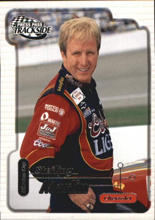 2000 Press Pass Trackside #11 Sterling Marlin