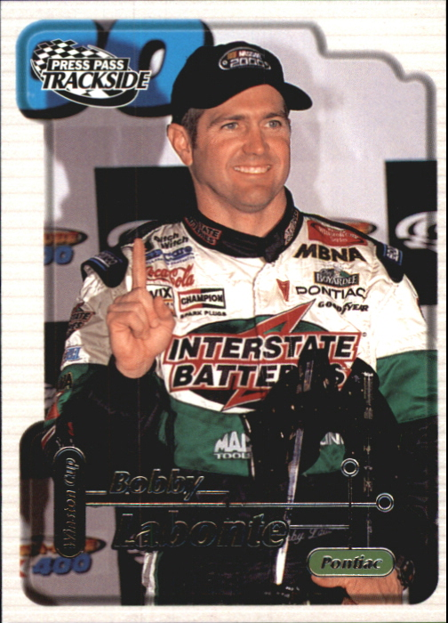 2000 Press Pass Trackside #13 Bobby Labonte