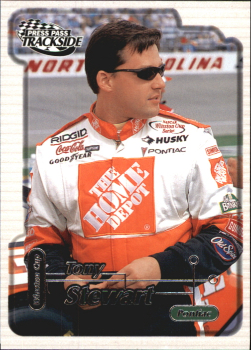 2000 Press Pass Trackside #14 Tony Stewart