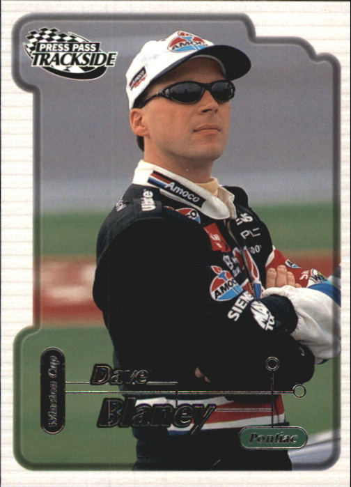 2000 Press Pass Trackside #18 Dave Blaney