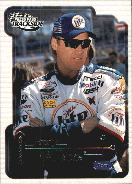 2000 Press Pass Trackside #19 Rusty Wallace