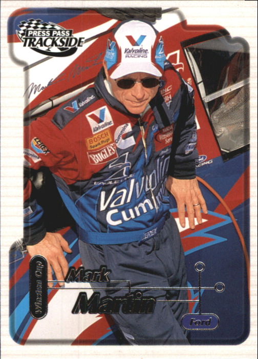 2000 Press Pass Trackside #20 Mark Martin