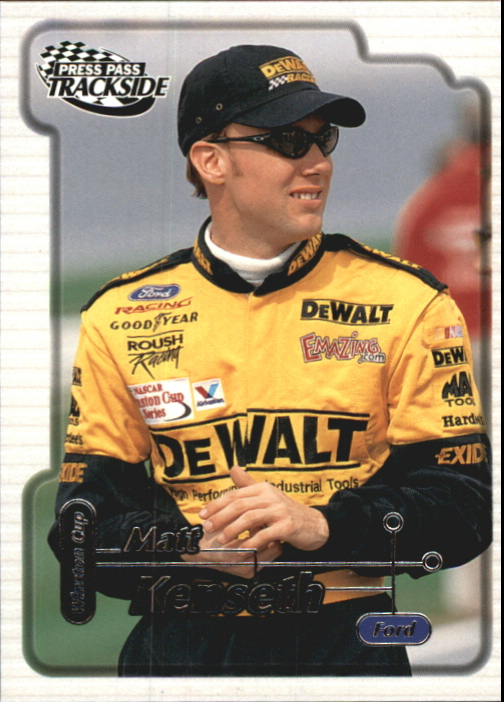 2000 Press Pass Trackside #22 Matt Kenseth CRC