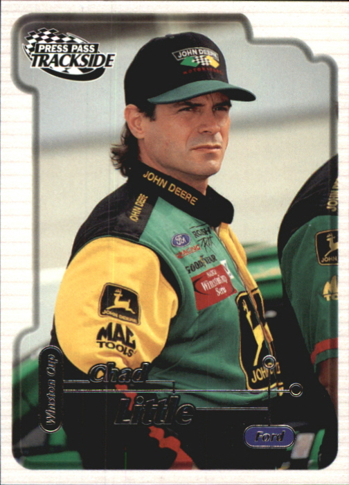 2000 Press Pass Trackside #23 Chad Little