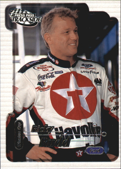 2000 Press Pass Trackside #24 Ricky Rudd