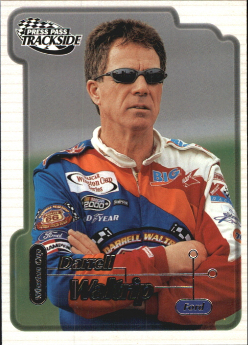2000 Press Pass Trackside #25 Darrell Waltrip