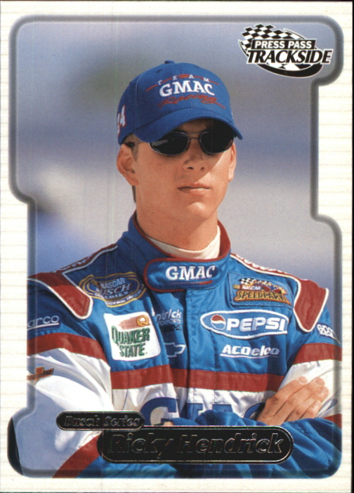2000 Press Pass Trackside #41 Ricky Hendrick BGN RC