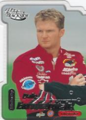 2000 Press Pass Trackside Die Cuts #6 Dale Earnhardt Jr.