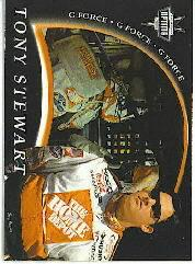 2000 Press Pass Optima G Force #GF23 Tony Stewart