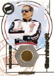 2000 Press Pass Optima Race Used Lugnuts Drivers #LD15 Dale Earnhardt/55