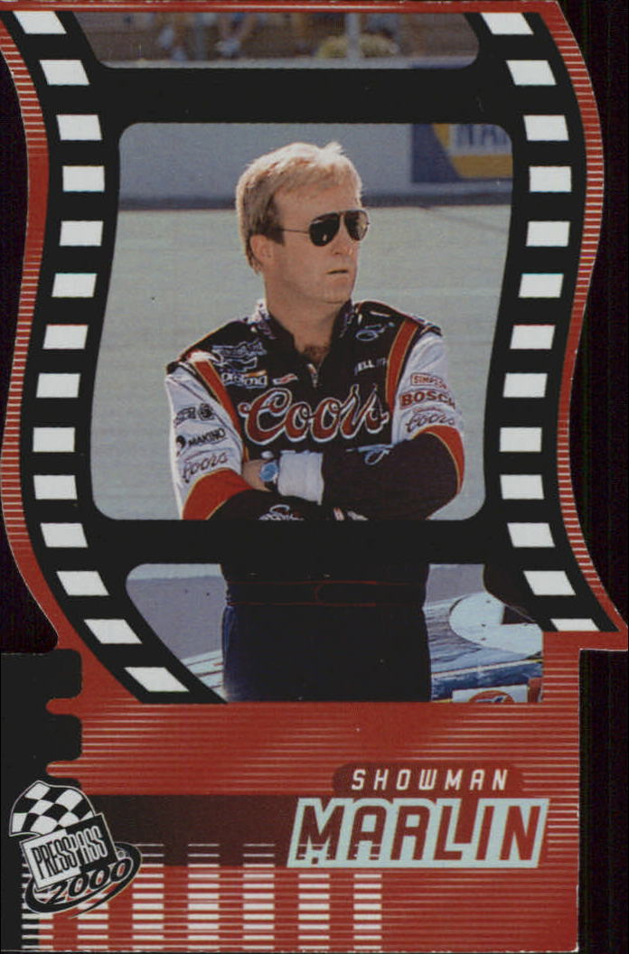 2000 Press Pass Showman Die Cuts #SM15 Sterling Marlin