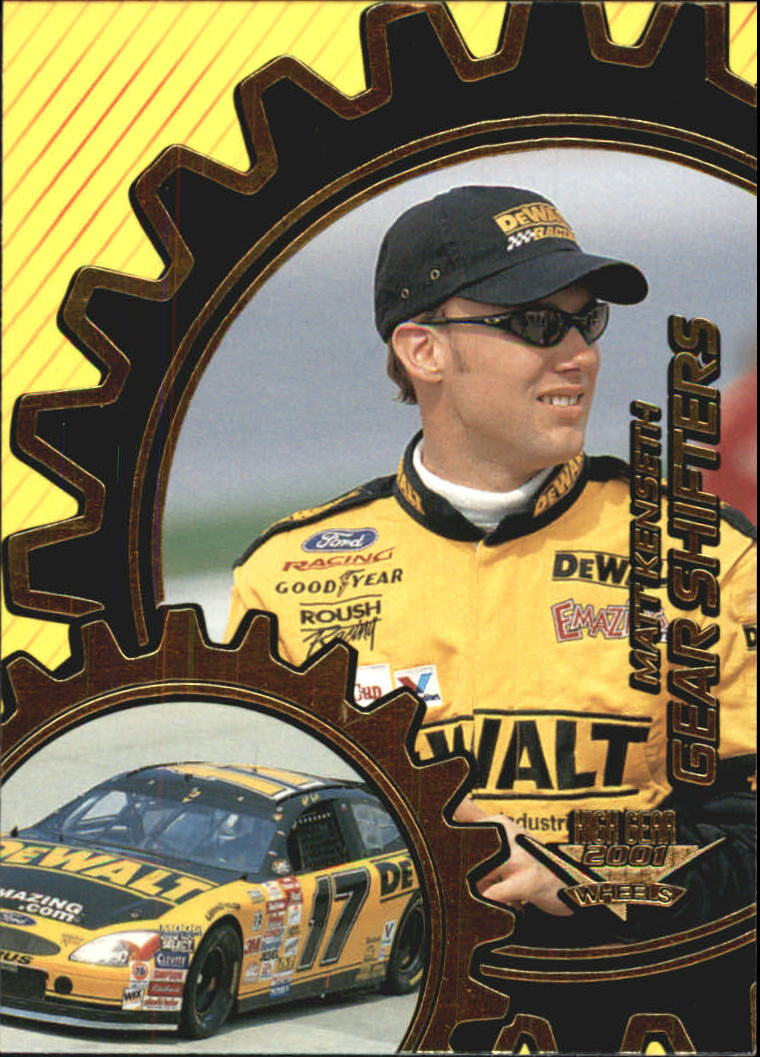 2001 Wheels High Gear Gear Shifters #GS12 Matt Kenseth