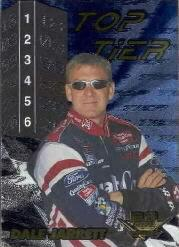 2001 Wheels High Gear Top Tier #TT4 Dale Jarrett