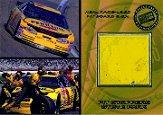 2001 Press Pass Trackside Pit Stoppers Cars #PSC10 Steve Park's Car/100