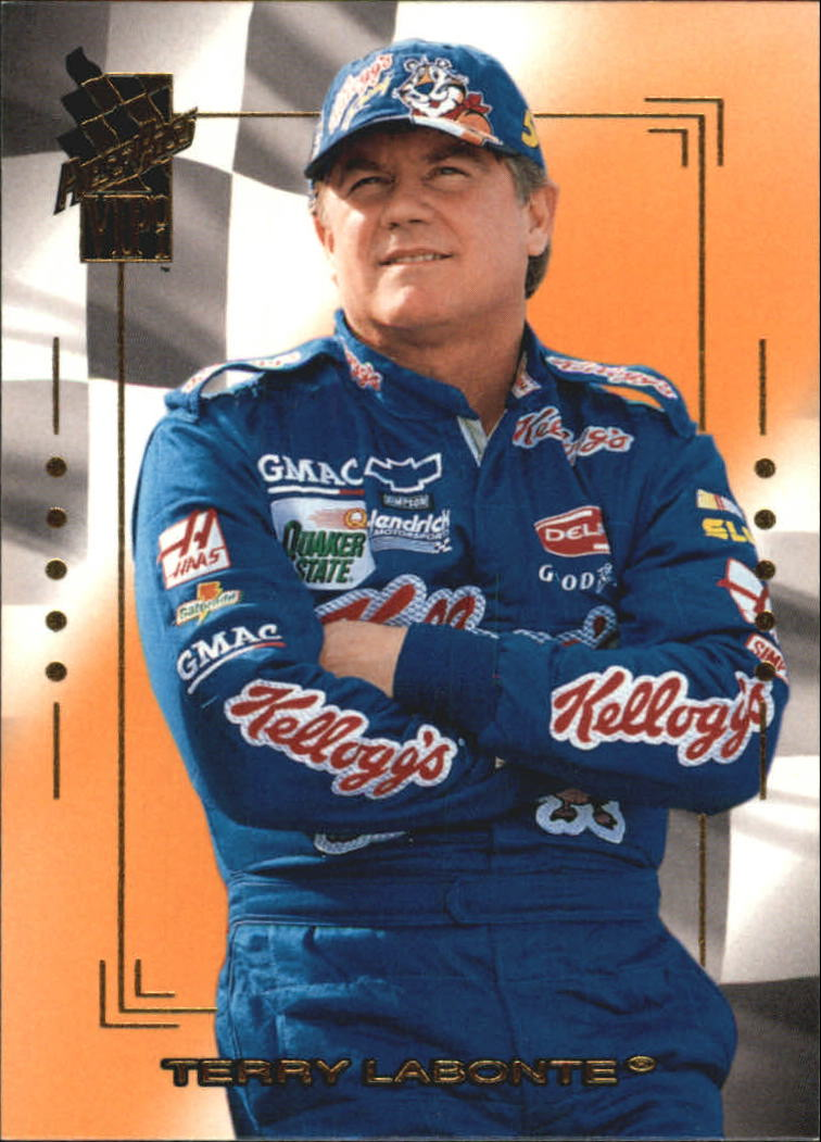 2001 VIP #9 Terry Labonte