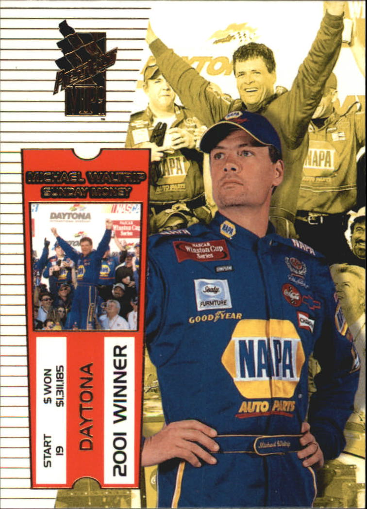 2001 VIP #19 Michael Waltrip SM