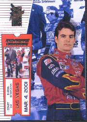 2001 VIP #21 Jeff Gordon SM
