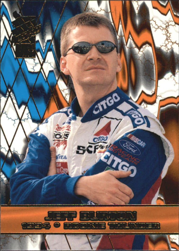 2001 VIP #34 Jeff Burton RT