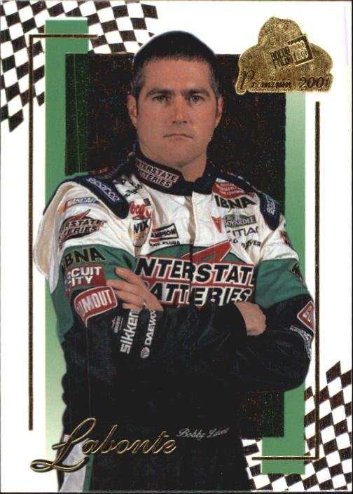 2001 Press Pass Premium #11 Bobby Labonte