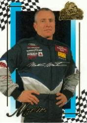 2001 Press Pass Premium #14 Mark Martin