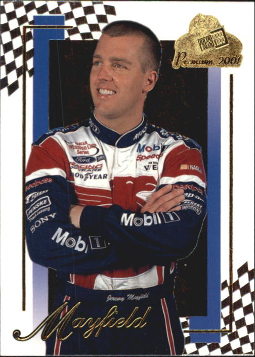 2001 Press Pass Premium #15 Jeremy Mayfield