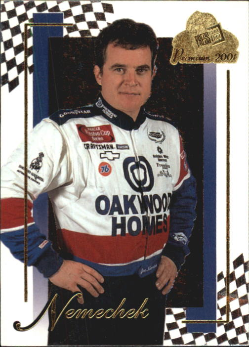 2001 Press Pass Premium #17 Joe Nemechek