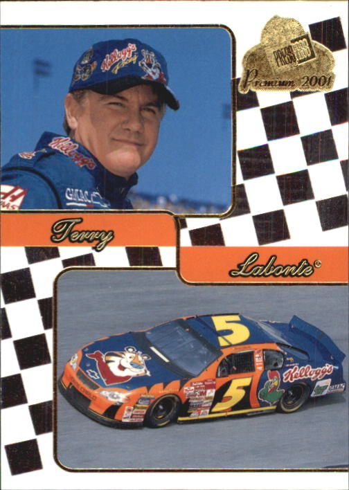 2001 Press Pass Premium #31 Terry Labonte