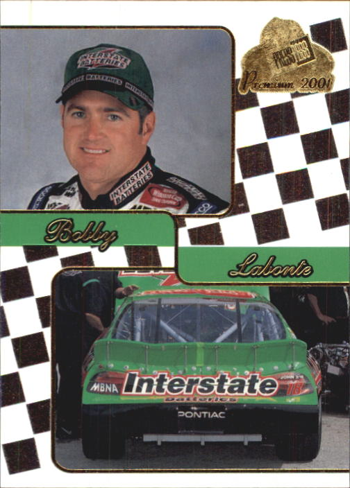 2001 Press Pass Premium #34 Bobby Labonte