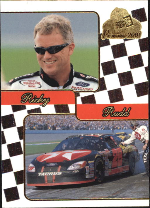2001 Press Pass Premium #37 Ricky Rudd