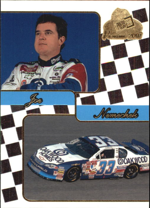 2001 Press Pass Premium #39 Joe Nemechek