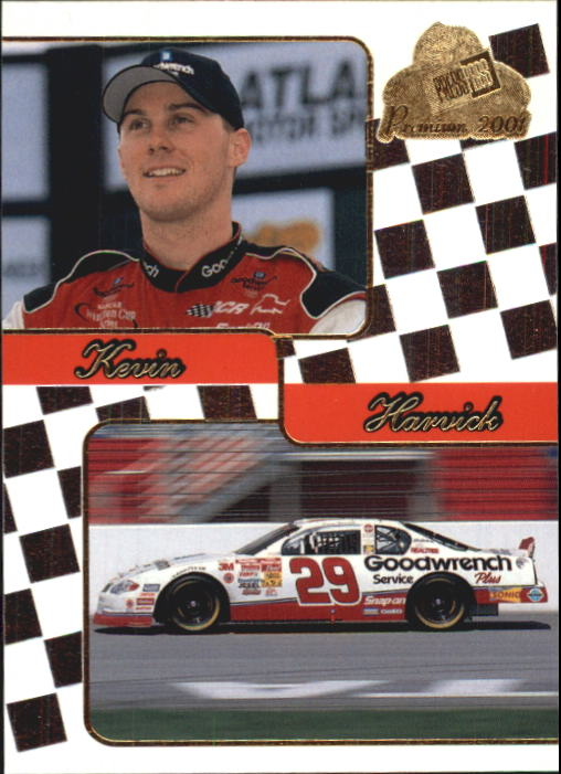 2001 Press Pass Premium #43 Kevin Harvick CRC