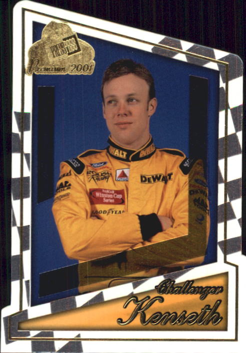 2001 Press Pass Premium #61 Matt Kenseth CC
