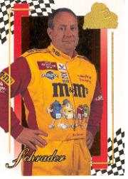 2001 Press Pass Premium Gold #22 Ken Schrader