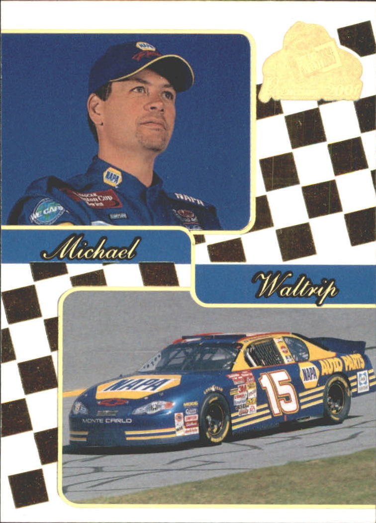 2001 Press Pass Premium Gold #33 Michael Waltrip
