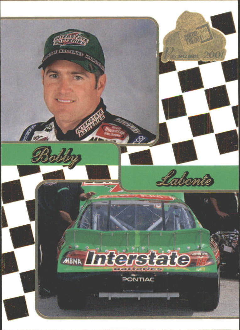 2001 Press Pass Premium Gold #34 Bobby Labonte