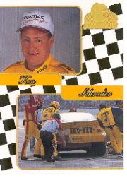 2001 Press Pass Premium Gold #40 Ken Schrader