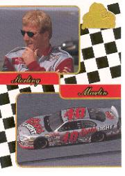2001 Press Pass Premium Gold #41 Sterling Marlin